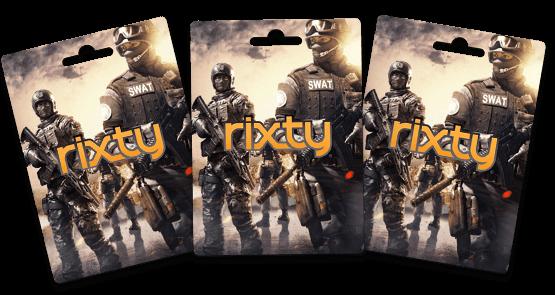 free Rixty codes